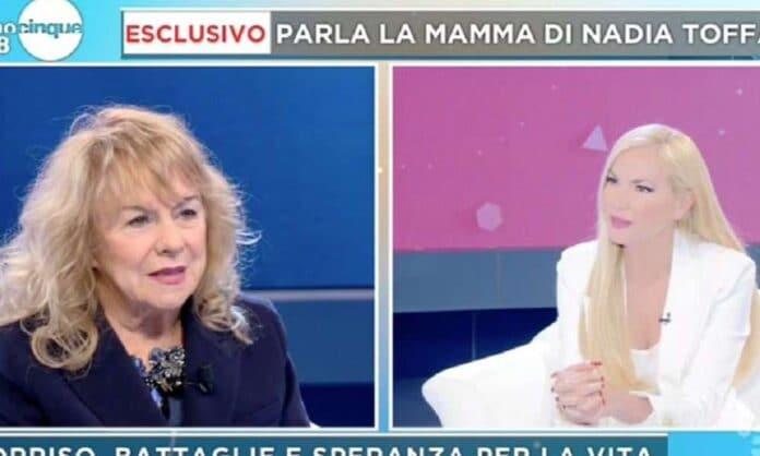 """Nadia Toffa, la mamma a Mattino Cinque rivela """"Ho dovuto mentirle"""""""