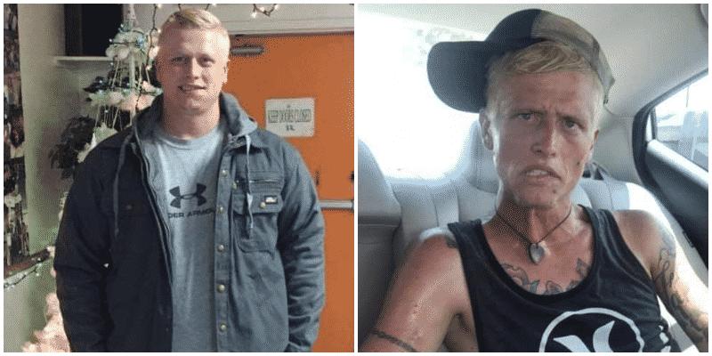 Mamma condivide le le foto del figlio Cody e rivela il vero volto della droga