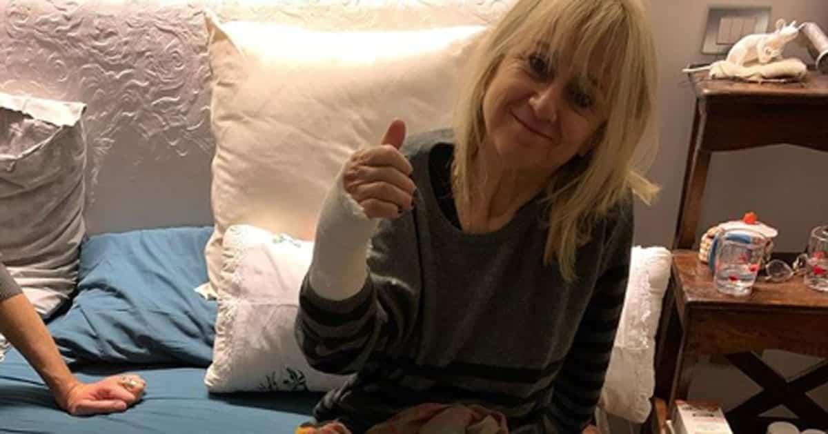 Luciana Littizzetto in ospedale dopo il brutto incidente, paura per la comica: il post su Instagram