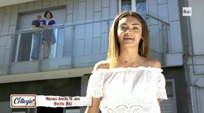 Mariana Aresta de Il Collegio, i genitori la cacciano da casa perchè lesbica