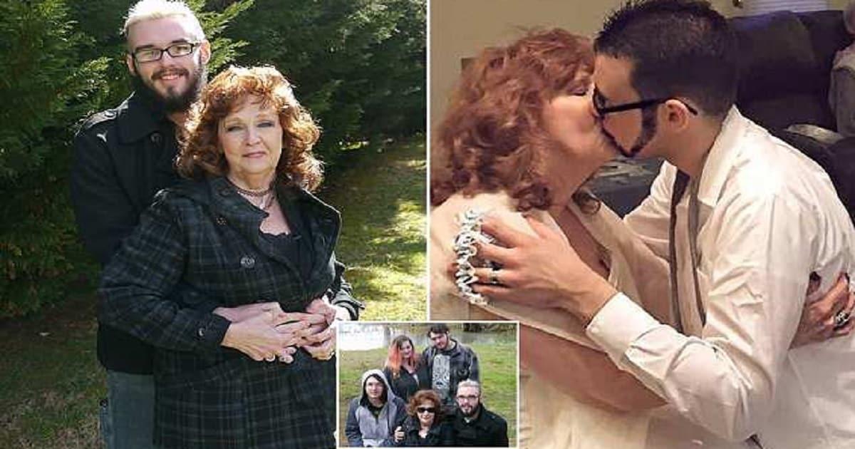 74 anni lei, 21 lui: si conoscono ad un funerale, si sposano e diventano youtuber