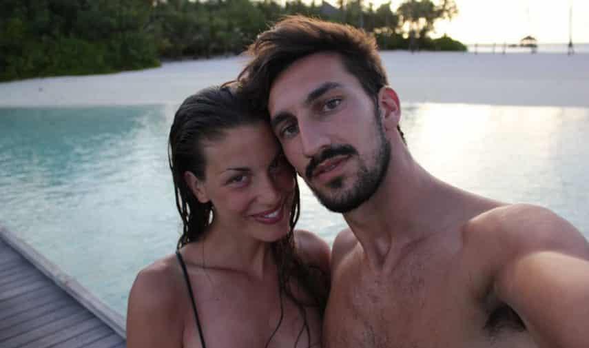 """""""Ci hai trovate"""", la commovente dedica di Francesca Fioretti a Davide Astori"""