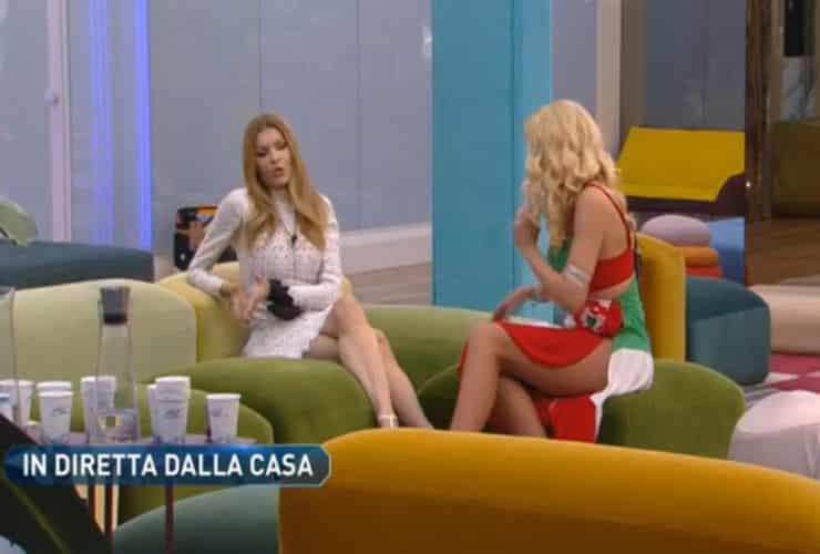 Grande Fratello Vip, è bufera sui concorrenti: insulti a Valeria Marini in diretta tv