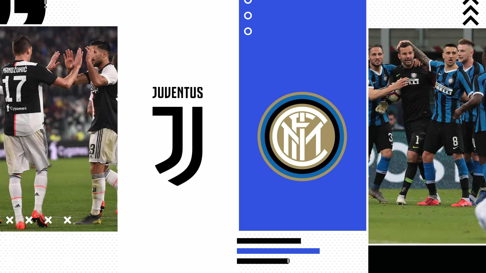 Juventus – Inter Streaming Gratis Diretta Live Tv