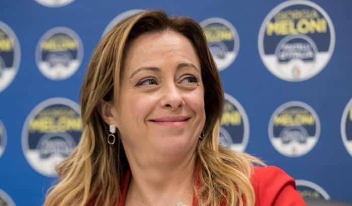Giorgia Meloni, crescono i consensi per Fratelli d'Italia negli ultimi 12 mesi