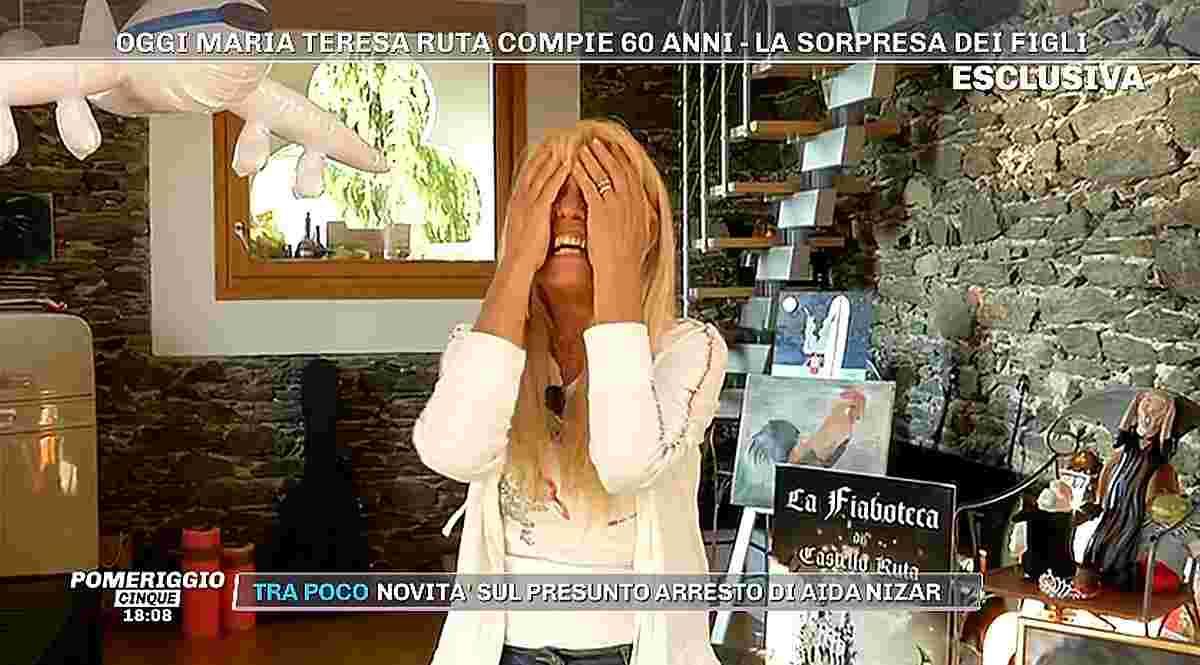 Pomeriggio 5, Maria Teresa Ruta in lacrime: cosa è accaduto?