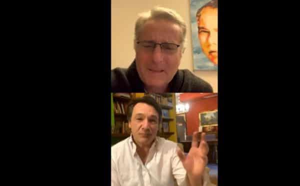 Avanti un altro, Paolo Bonolis e Fabio Caressa show in diretta su Instagram