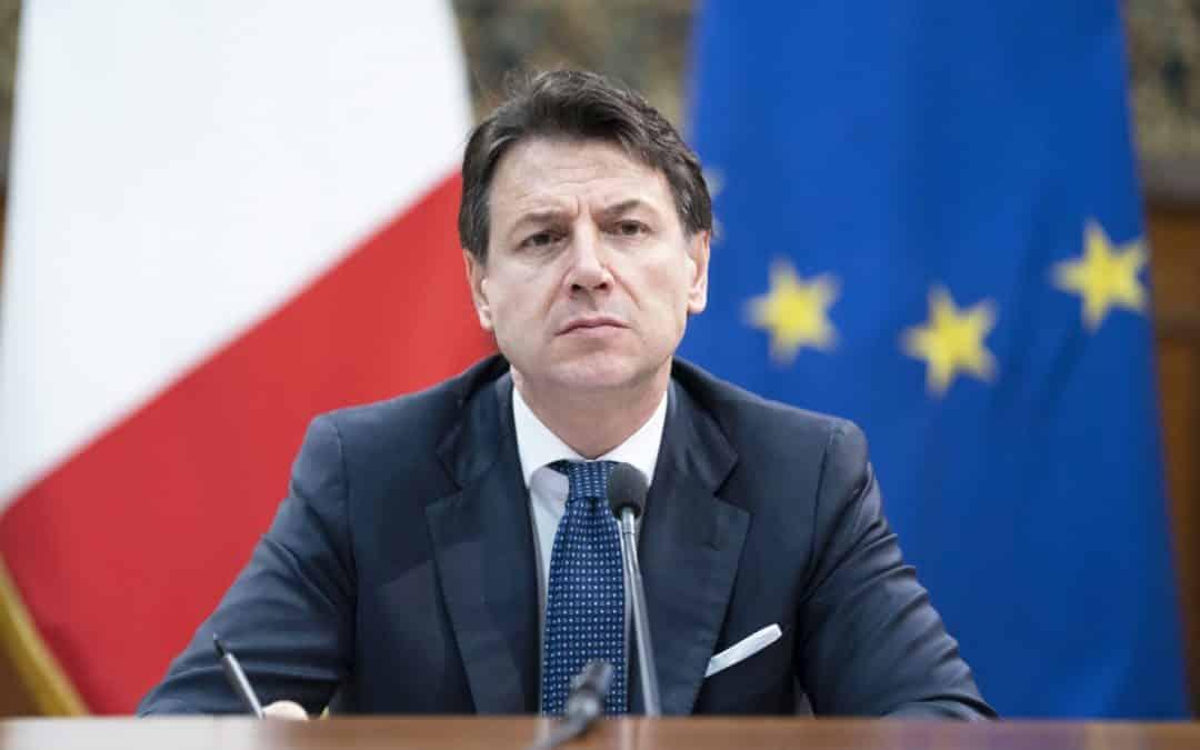 Giuseppe Conte, atteggiamento sospetto da Lilli Gruber. Il premier sta male?