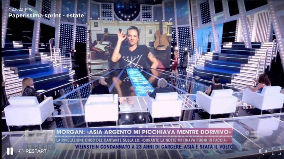 """Asia Argento compie gli anni, il regalo dell'ex Fabrizio Corona: Se ci rincontreremo ti farò vedere di nuovo le stelle"""""""