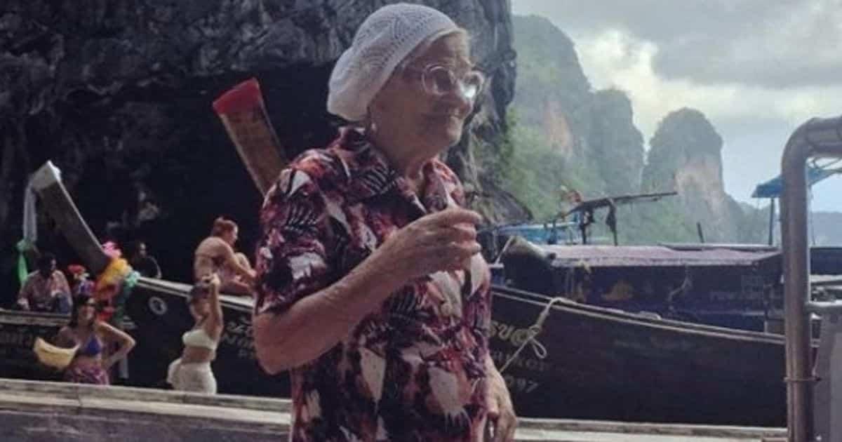 Nonnina a 83 anni spende tutti i risparmi per girare il mondo