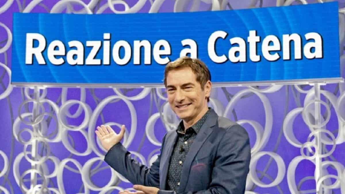 Marco Liorni, fuori onda speciale per lui a Reazione a Catena