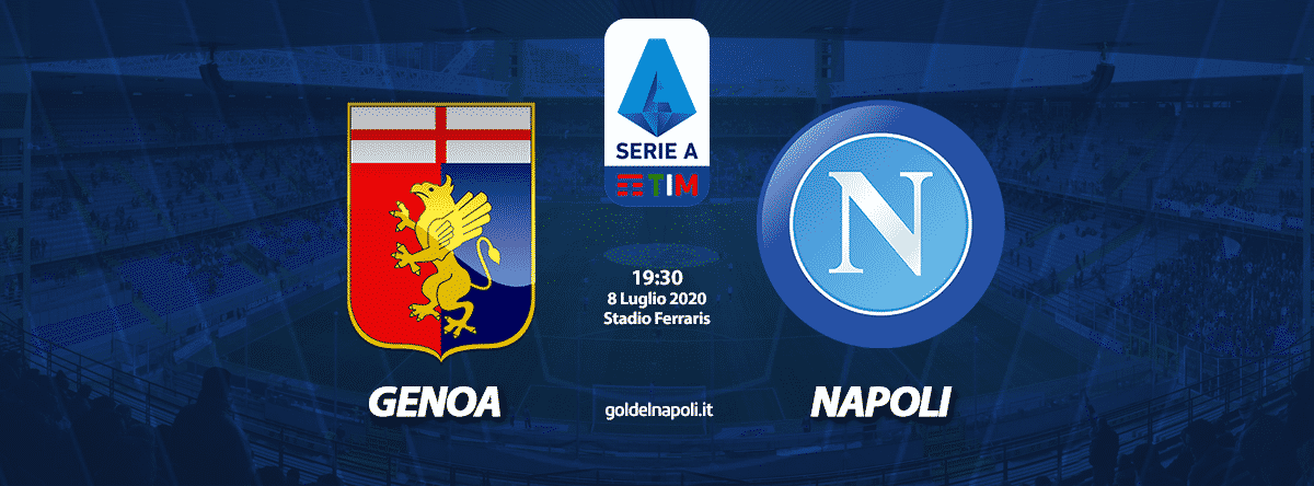 Streaming Serie A Genoa – Napoli come vedere diretta live Tv gratis (Sky o Dazn)