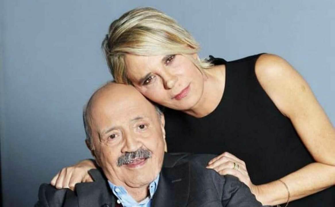 Maurizio Costanzo scoperto dalla moglie con l'amante Maria De Filippi