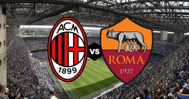 Streaming Hesgoal Milan – Roma come vedere Diretta Live Tv Gratis