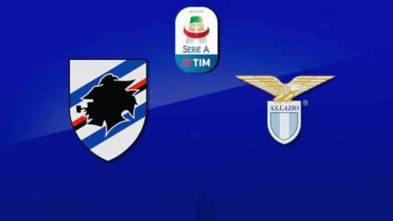 Sampdoria-Lazio- serie a tim