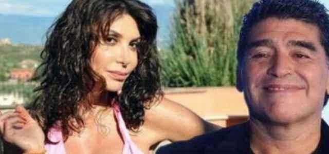 """Carmen Di Pietro """"Fidanzata con Diego Armando Maradona negli anni '90"""": bufera per il fotomontaggio"""