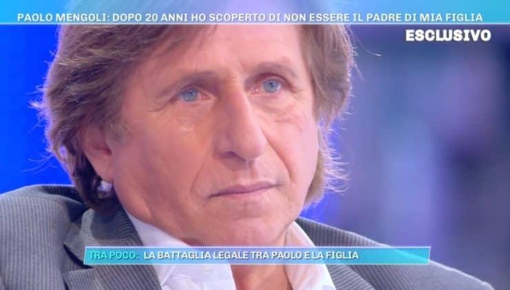 """Paolo Mengoli, confessione shock a Domenica Live """"Truffato per 20 anni, non era mia figlia.."""""""