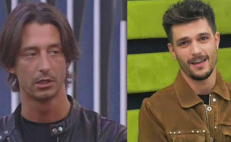 Anfrea Zelletta e Francesco Oppini al GFVip