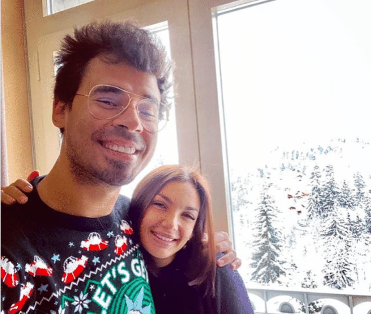 Elettra lamborghini e Afrojack, incidente sulla neve: per fortuna c'era il marito a proteggerla