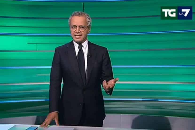"""Enrico Mentana sfuriata contro il suo inviato in diretta """"Ma tu lavori per noi o …."""""""