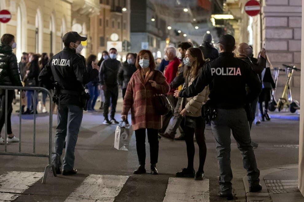 festa illegale a milano