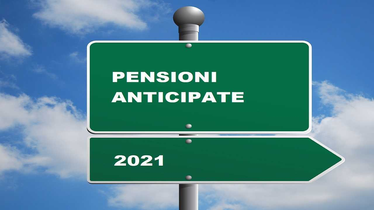 Pensioni anticipate 2021, contratto di espansione e 5 anni di sconto su requisiti Inps